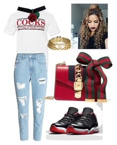 """""""Go Gamecocks"""" by chandlermcintosh on Polyvore featuring Chanel and Gucci"""
