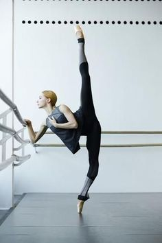 661d0b562a028 Iana Salenko of Berlin State Ballet and Zarely Role Model features Zarely  perfect line seamless leggings