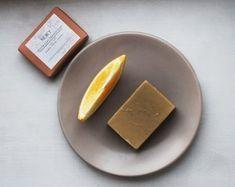 YELLOW CLAY ORANGE SOAP Orange, Yellow, Soap, Handmade, Hand Made, Soaps, Handarbeit, Gold