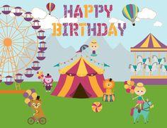 Festa di compleanno a tema circo