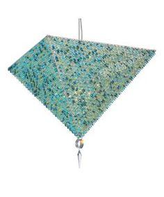 Geometrix by Schonbek VR2524AQU Vertex Pyramids 17 Light Ceiling Pendant with Aqua Strass crystal $15,015.00