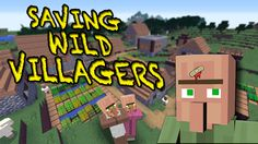 Finding Minecraft villagers in the wild is pretty awesome, but leaving them alone can be a death sentence. How do keep them alive until you come back to the village? In this video, I'll show you 3 surefire methods to protect them and keep them safe.