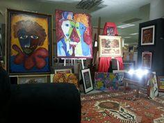 Laubar Art ..... Four Square, Mall, Brooklyn, Studio, Painting, Painting Art, Studios, Paintings, Painted Canvas