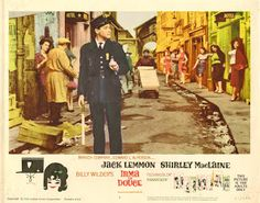 Carteles del cinema: 1963 - IRMA LA DULCE - Irma la Douce - Billy Wilder