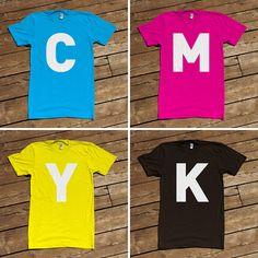 CMYK shirts