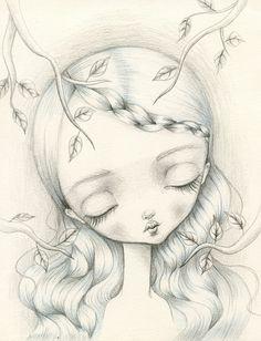 Sketch by Lauren Saxton.