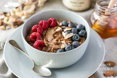 Acai Bowl, Cereal, Oatmeal, Cooking, Breakfast, Fitness, Food, Acai Berry Bowl, The Oatmeal