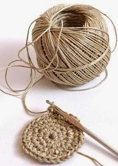 Best 11 Round juta cord bag crochet tasseled handbag summer tote circular purse circle bags custom made – Page 841891724070969951 – SkillOfKing. Crochet Bowl, Diy Crochet, Crochet Stitch, Crochet Storage, Hemp Yarn, Jute Twine, Crochet Handbags, Sisal, Custom Bags