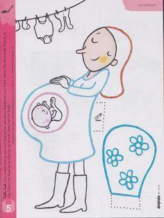 kleurplaat hoera een zoon kleurplaten nl geboorte