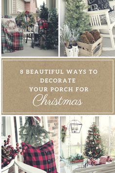 Christmas, Christmas porch decor, porch decor, Christmas, DIY, DIY home decor, popular pin, holiday decor.