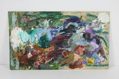 Vintage Impasto Oil Painting Signed Christine Hope #Modernism