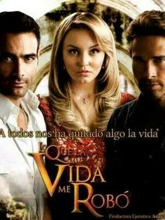 "I cant get enough of this show! ""Lo que la vida me robo"""