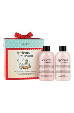 philosophy 'apricots & cream' duo (Nordstrom Exclusive) available at #Nordstrom