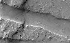 Three Faults in Melas Chasma