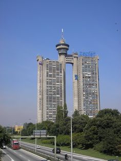 West Gate - Zapadna kapija - Belgrade, Serbia.