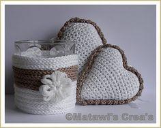 kuddelz: Het patroon van de gehaakte vintage-harten is nu ook te koop in de webwinkel