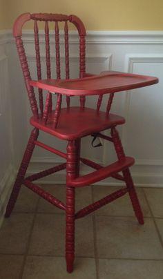 antique vintage high chairs on pinterest vintage metal
