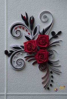 Neli There is some really beautiful cards made by quilling have seen this years ago but do not know how to do it. There is no instructions.