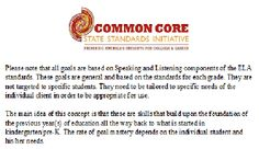 Miss Thrifty SLP: Common Core. You can find more of my goal bank by checking the Quick Referencing Page.