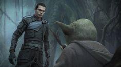 Epic SWTFU II moment... Starkiller meets Yoda...
