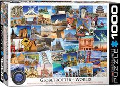 Globetrotter World 1000 Piece Puzzle