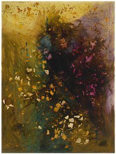 Sigmar Polke, Ohne Titel, Silberbild (1986): Sotheby's 11-13-12