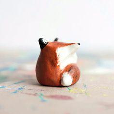 Le Red Fox FatFat Totem  Made to Order par leanimale sur Etsy, $20.00