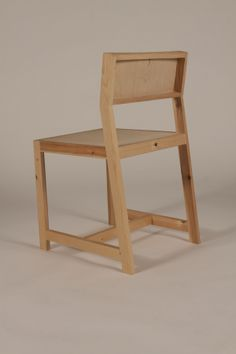 Pine Dining Chair by Jack Storey