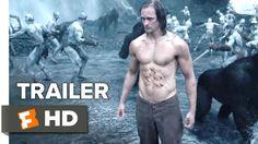 The Legend of Tarzan movie Official Trailer to be released in 2016 starring Alexander Skarsgård, Margot Robbie Film Trailer, Movie Trailers, Love Movie, Movie Tv, Amy Adams Movies, Tarzan Film, Margot Robbie Movies