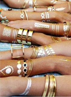 Temporary Tattoos: The New Jewelry Alternative | Lovelyish