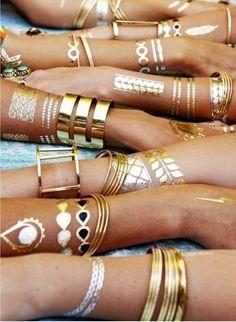 Temporary Tattoos: The New Jewelry Alternative | Lovelyish