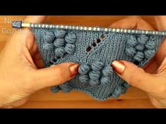 Knitting Stitches, Baby Knitting, Knitted Baby Clothes, Fingerless Gloves, Arm Warmers, Embroidery, Youtube, Fashion, Scarves