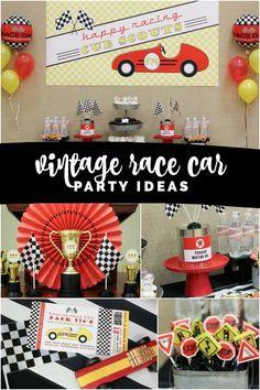 A Vintage Racecar Cu