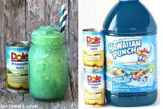 Kiwi Banana Smoothie, Kiwi And Banana, Dole Pineapple, Pineapple Juice, Tropical Mugs, My Favorite Food, Favorite Recipes, Slush Recipes, Fruit Juice