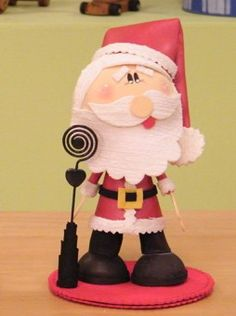 goma evafoamy etc on Pinterest | Manualidades, Papa Noel and Picasa