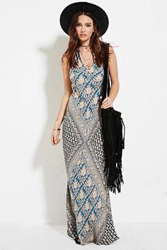 Raga Floral Print Maxi Dress #f21brandedshop