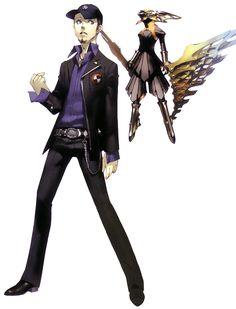 Junpei Iori - Characters & Art - Shin Megami Tensei: Persona 3