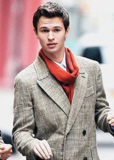 Ansel Elgort just stoping being so freaking cute, grrrr Perfect People, Beautiful People, Augustus Waters, Bae, Ansel Elgort, Young Actors, The Fault In Our Stars, Fine Men, Attractive Men