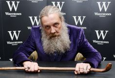 At an anti-library closure protest, local magician and comics legend Alan Moore had some surprising words for those who hope to break into the wide world of published writing.