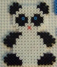 Panda hama perler beads