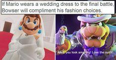 10 Brilliant Mario Odyssey Details You Might Have Missed All Video Games, Video Game Memes, Video Games Funny, Funny Games, Nintendo Game, Nintendo Characters, Funny Gaming Memes, Funny Relatable Memes, Super Smash Bros