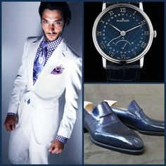 SUNDAY/SPECIAL OCCASION STYLE:Tom Ford(Suit)-Riccardo Freccia(Shoes)-Blancpain(Watch)