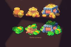 Game Art - Idle Prison Tycoon on Behance Game Gui, Game Icon, Game Concept, Concept Art, Retro Logos, Game Assets, Game Design, Behance, Prisoner