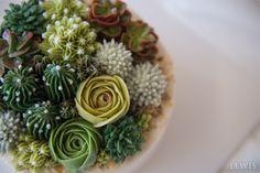 초록초록 다육이 블라썸 꽃케이크_버터크림 플라워케이크 : 네이버 블로그