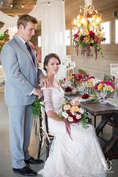 Styled Shoot The Barn at Raccoon Creek Barn Raising Launch