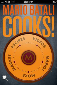 Mario Batali Cooks! iPhone and iPad app by High Five Labs Inc.. Genre: Lifestyle application. Price: $9.99.