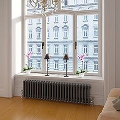 View our gorgeous range of grey column radiators. Our designer grey horizontal radiators are triple panel & include long & earl grey radiator varieties. Bedroom Radiators, Column Radiators, Horizontal Designer Radiators, Traditional Radiators, 1930s House, Thing 1, Home Projects, New Homes, Home
