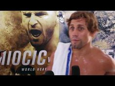 MMA Urijah Faber media scrum at UFC 203 open workouts
