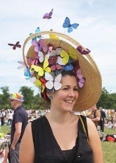 Les jolis chapeaux du Prix de Diane