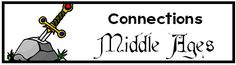 Connections ~ Middle Ages Unit Study, Lesson Plans, Printables, Lapbooks  Lots of resource pages to print  Book reports